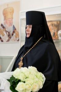 Голова синодального відділу - ігуменя Серафима